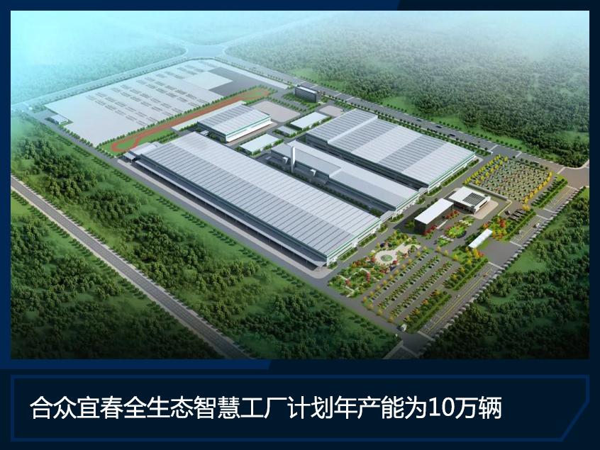 合众宜春工厂年产能10万辆