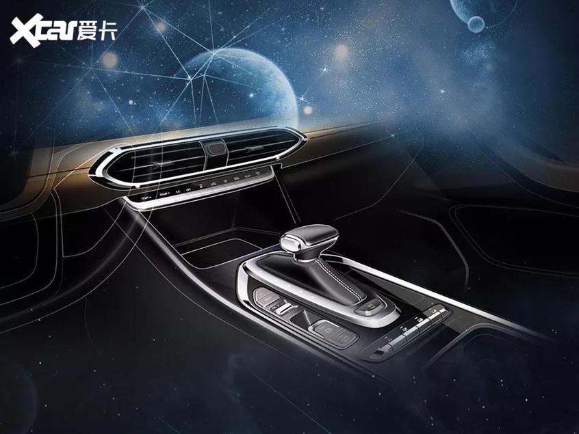 新一代传祺GS4内饰设计草图