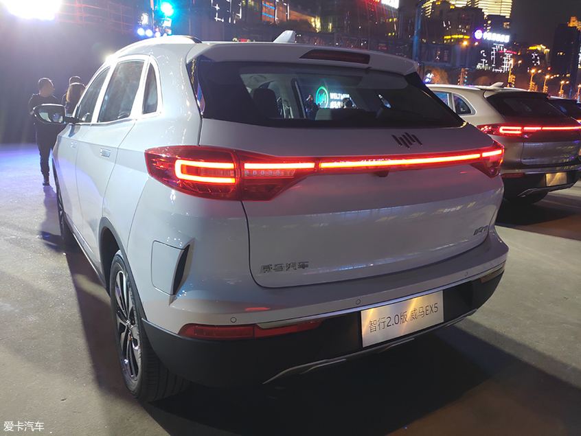 威马EX5两款车型上市