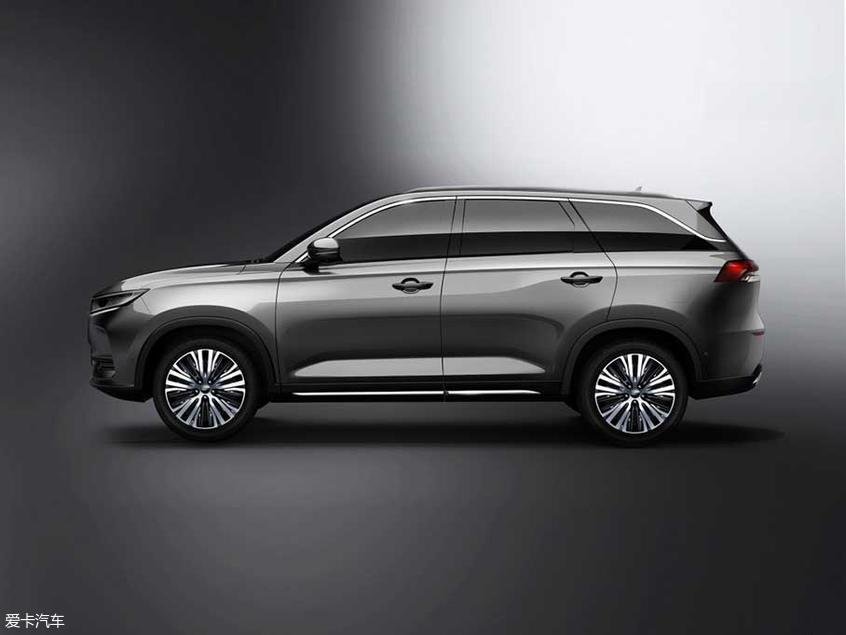 欧尚X7车型官图发布 将于上海车展首发