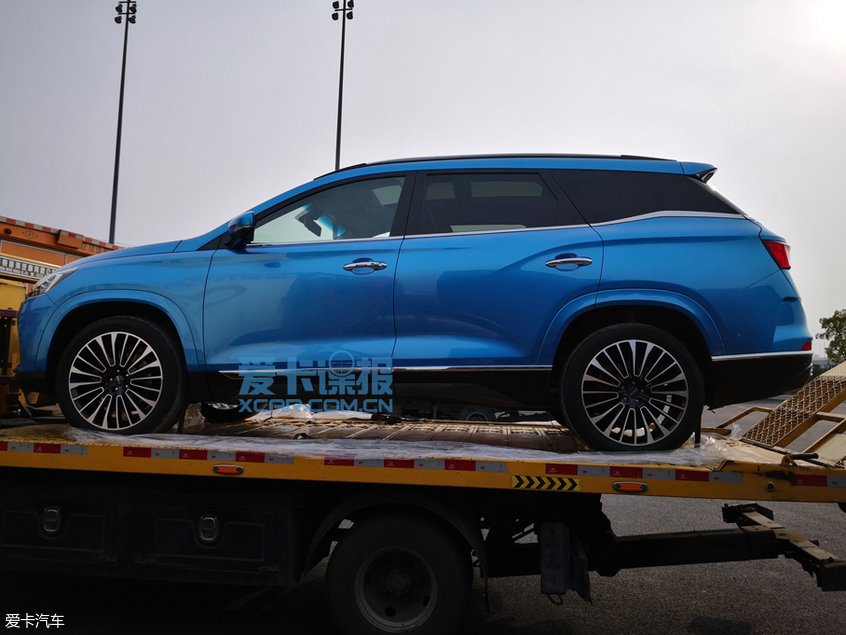 上海车展探馆:捷途中大型SUV X95抢先看