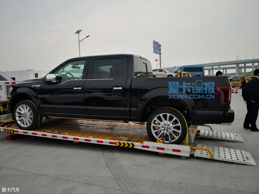 上海车展探馆:福特F-150 Limited实车