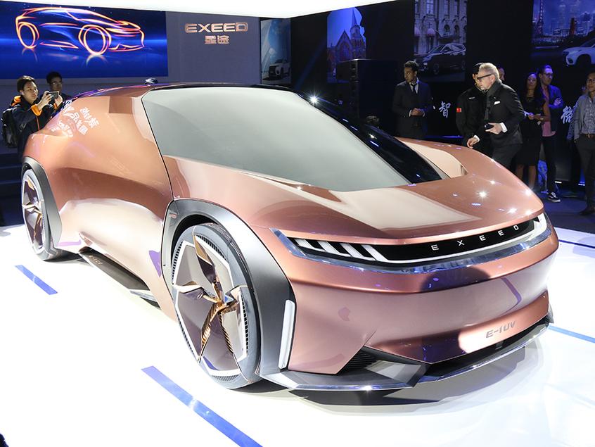 星途E-IUV概念车