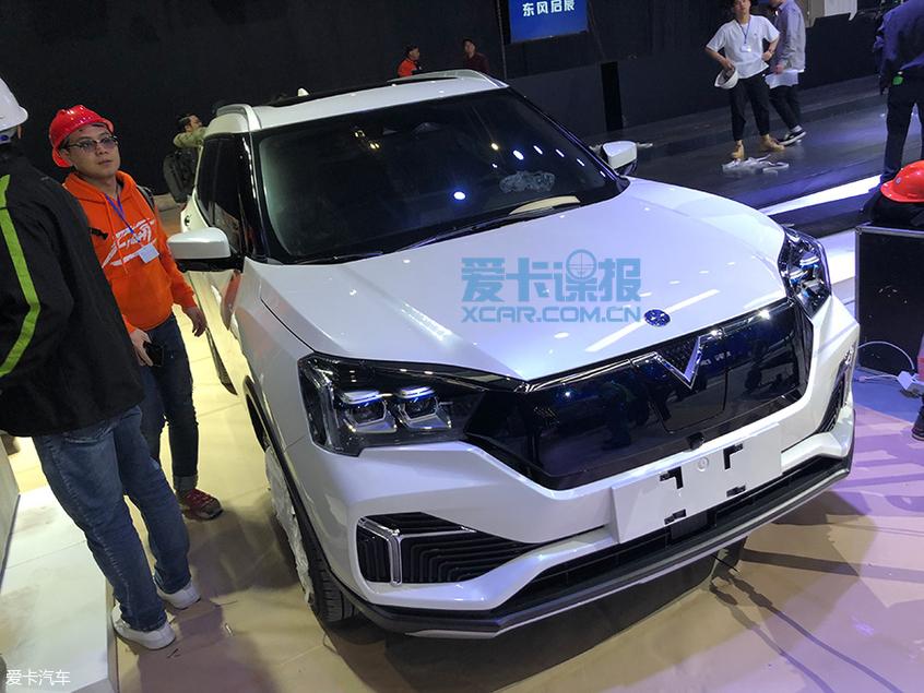 上海车展探馆:东风启辰T60 EV抢先拍