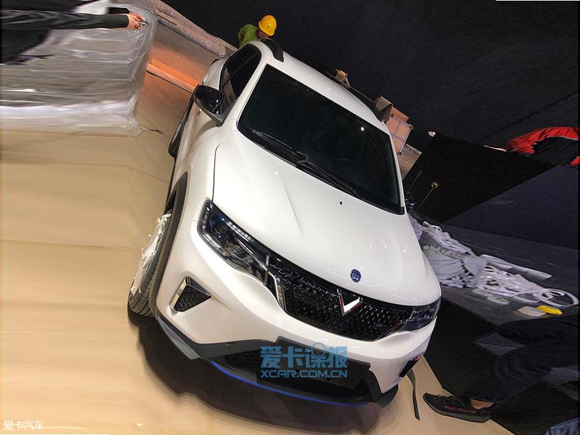 2019上海车展探馆:东风启辰e30抢先拍