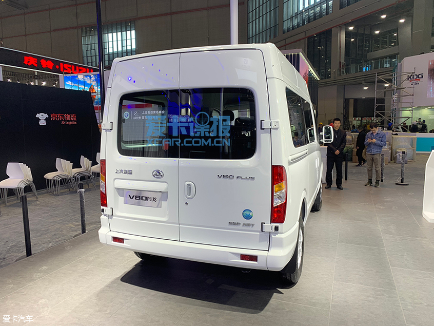 上海车展探馆:上汽大通V80 PLUS抢先拍