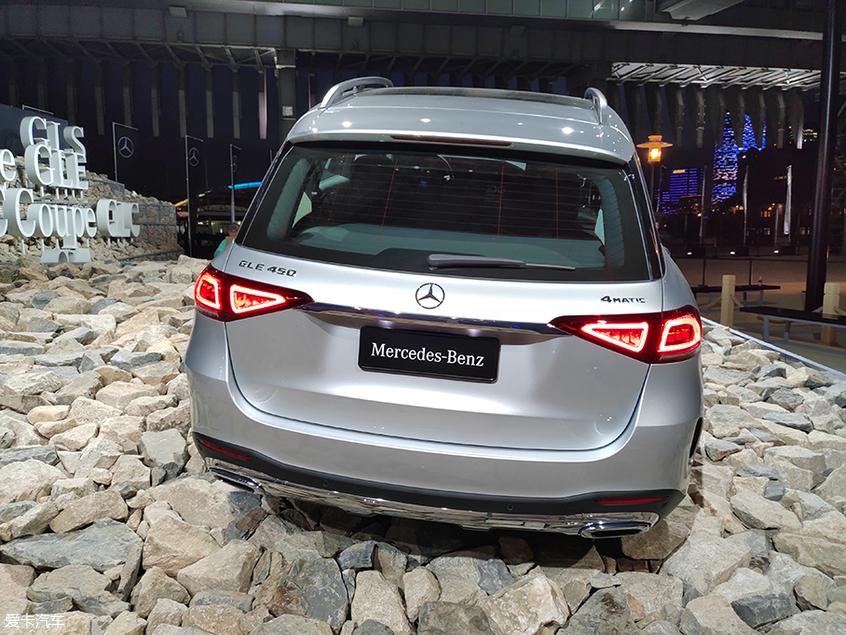 2019上海车展 全新一代奔驰GLE正式亮相