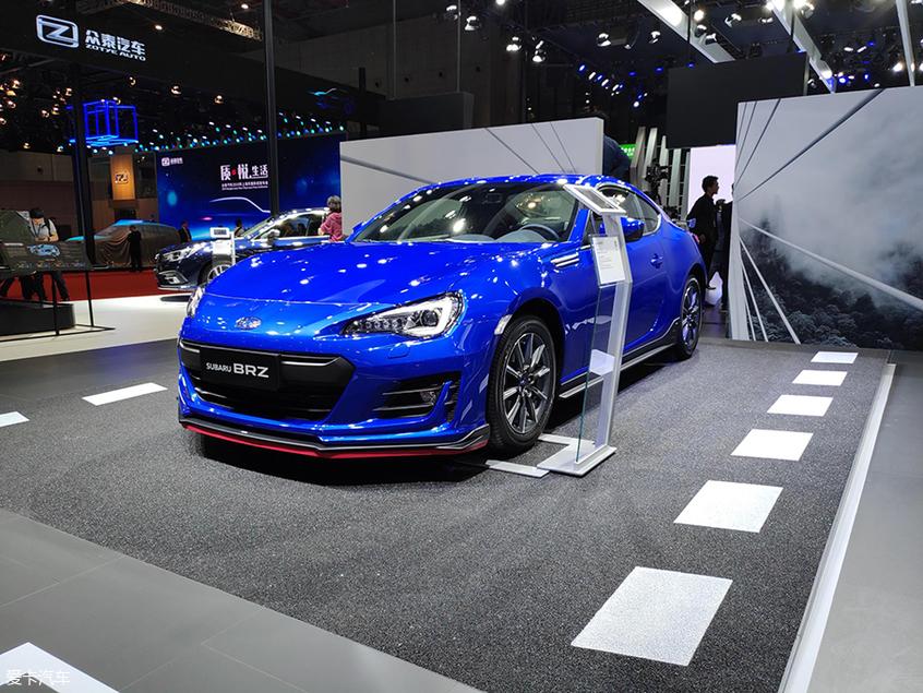 2019上海车展:新款斯巴鲁BRZ正式上市