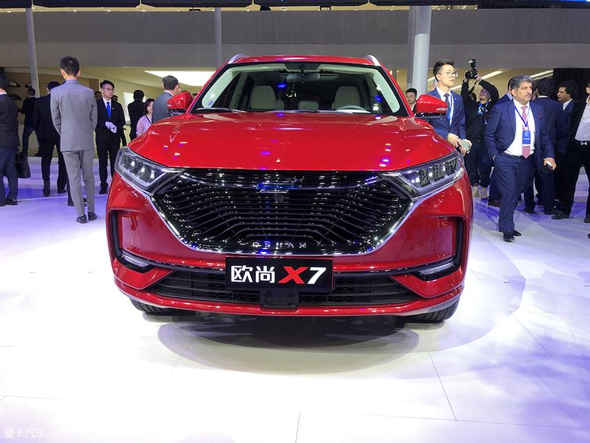 上海车展:欧尚X7正式亮相/轴距2780mm