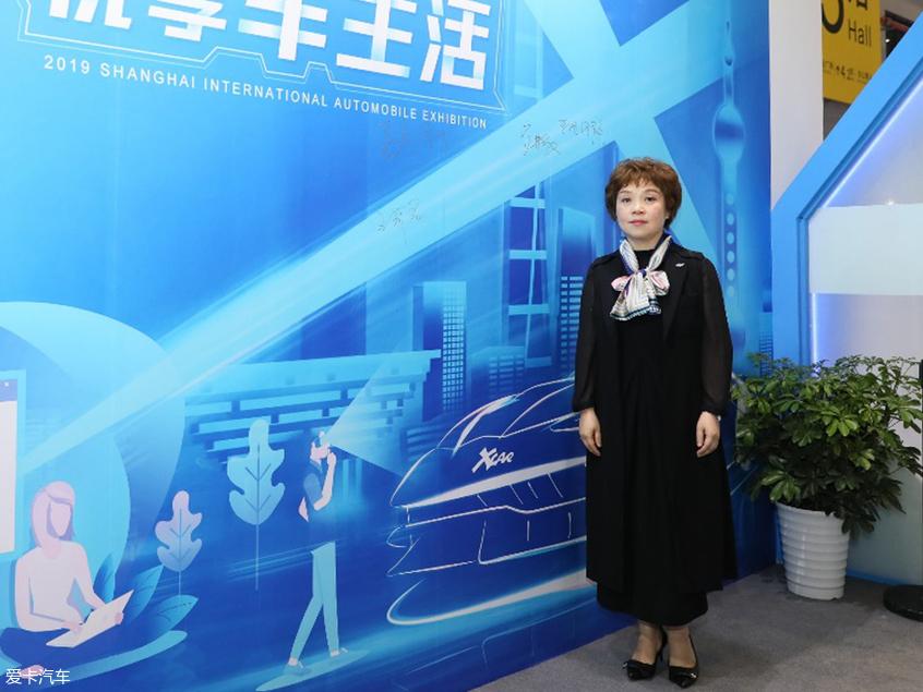 长安欧尚汽车副总经理王莉君