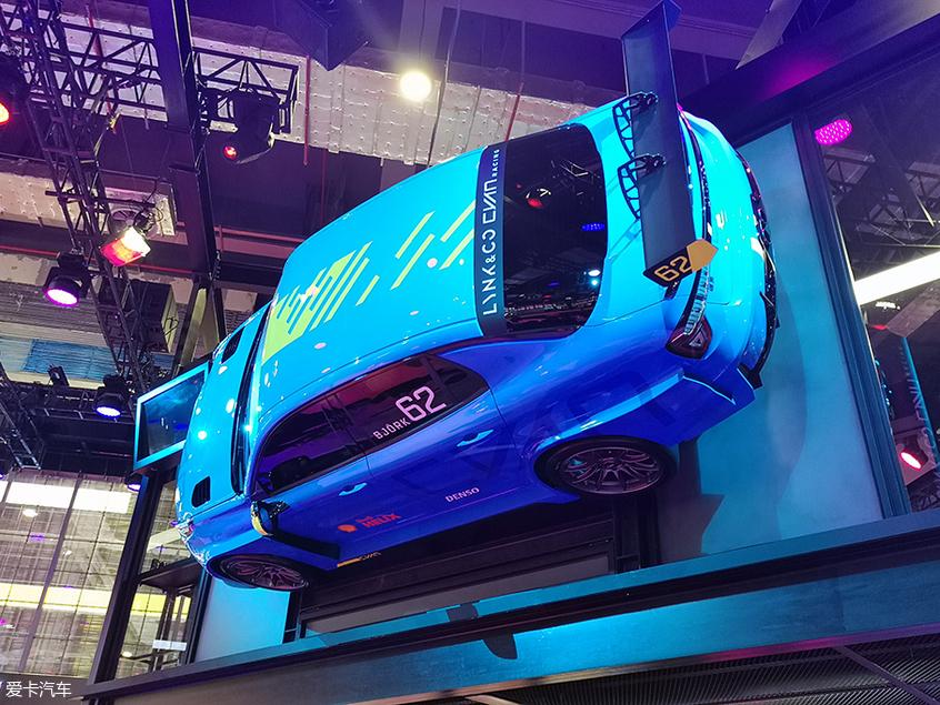2019上海车展:领克03 Cyan概念车发布