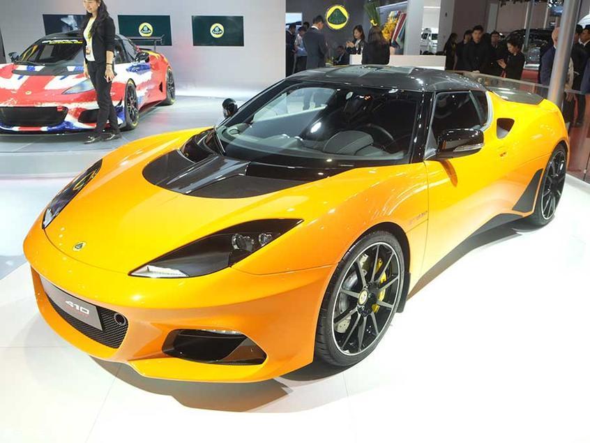 上海车展 路特斯Evora GT410 Sport发布