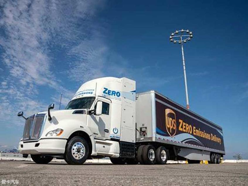 丰田将推全新零排放燃料电池重型卡车