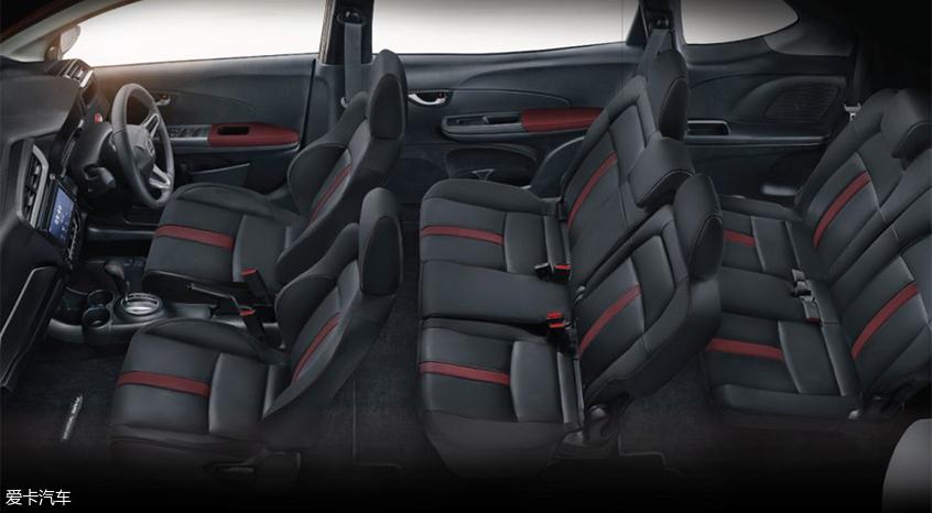 新款本田BR-V车型官图发布 细节小调整