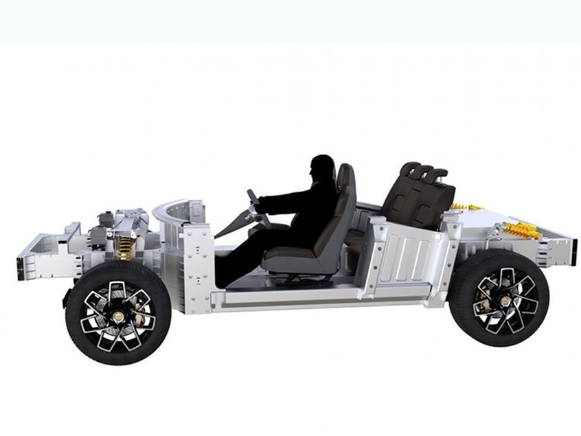 皮耶希全新SUV/轿车预告图 搭三个电机