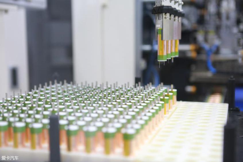 比亚迪新电池工厂