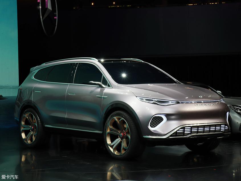 腾势Concept X概念车