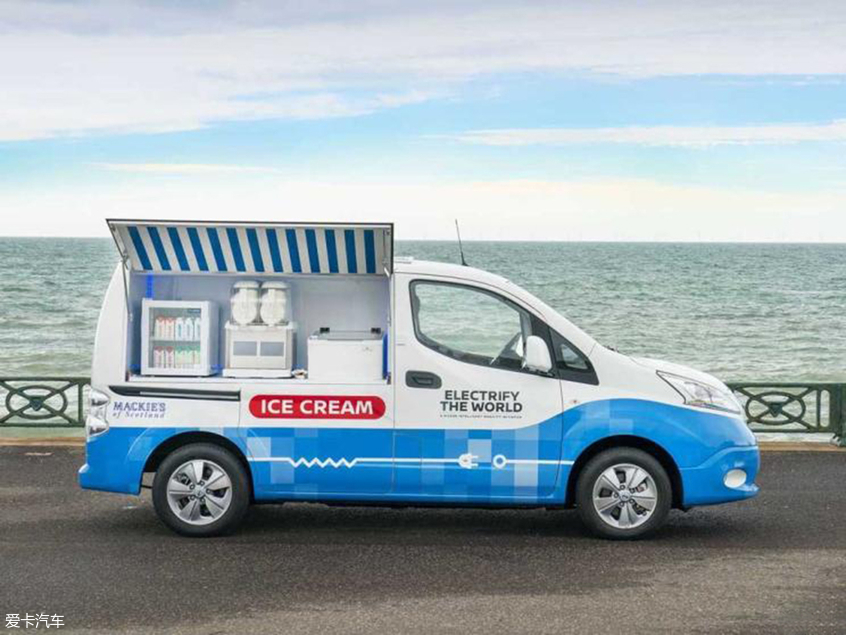 日产e-NV200 Ice Cream概念车