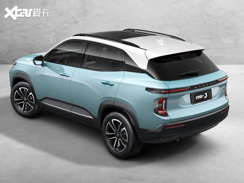 新宝骏RS-3官图曝光 小型SUV/10月上市