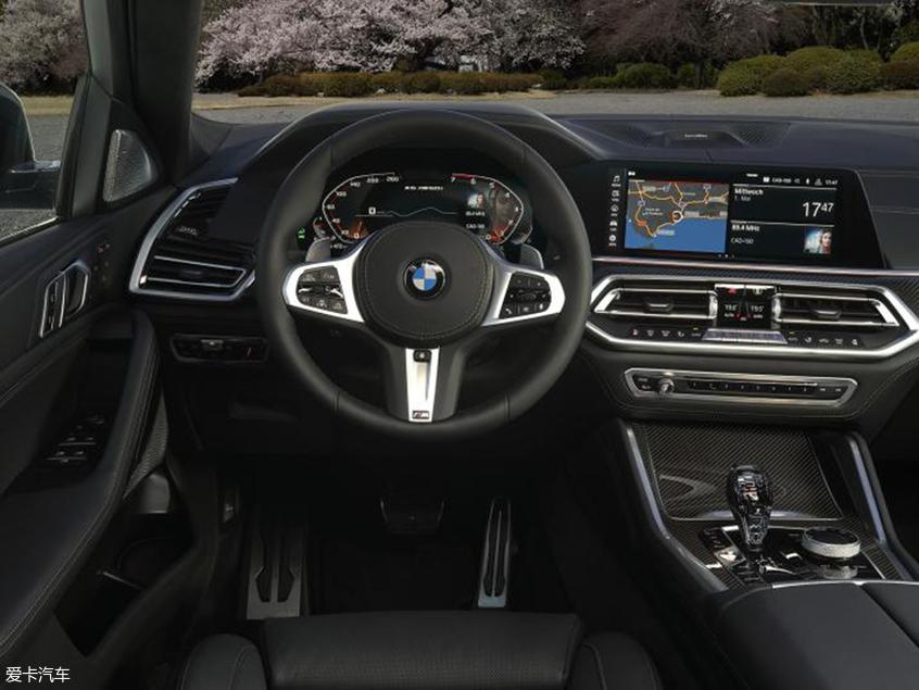 全新一代宝马X6官图 法兰克福车展发布