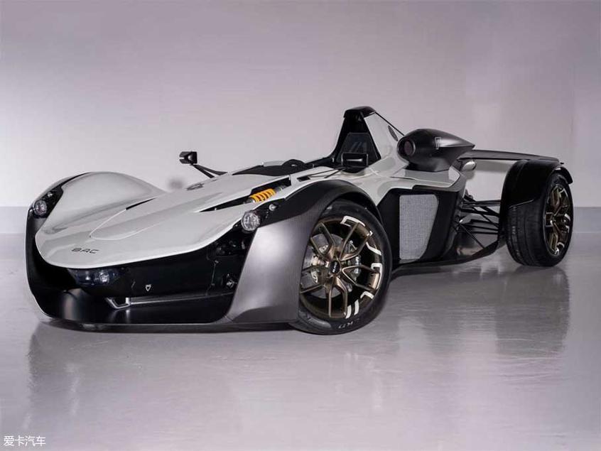 限量发售30台 BAC发布Mono R车型官图