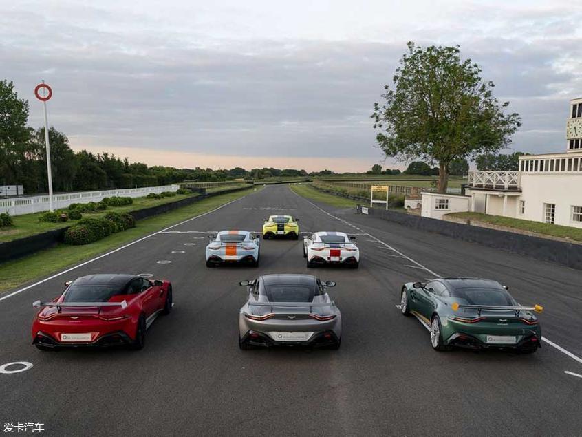 限量发60台 V8 Vantage特别版官图发布
