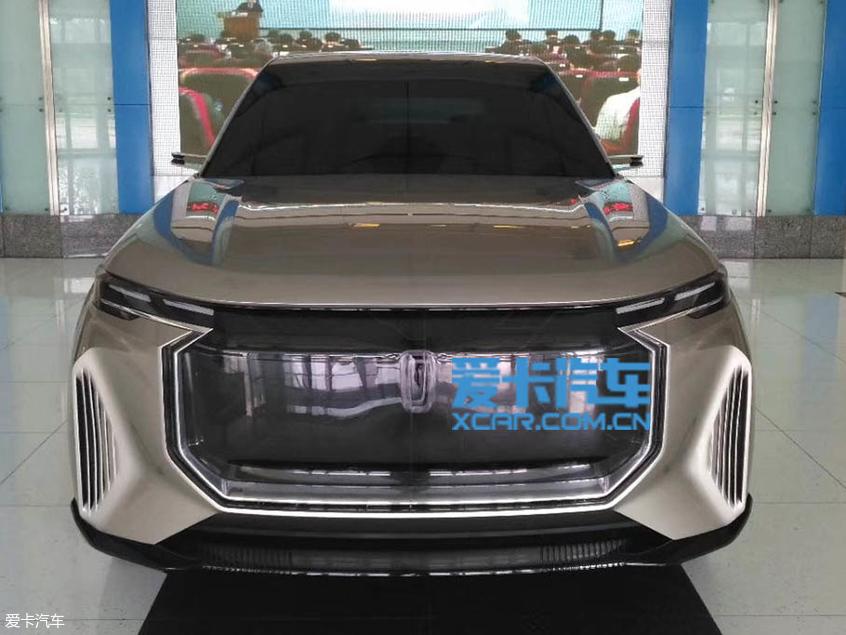 奔腾T99实车图曝光 旗舰SUV/10月上市