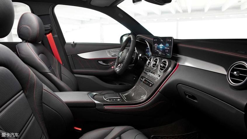 新款AMG GLC 43/Coupe两车型官图发布