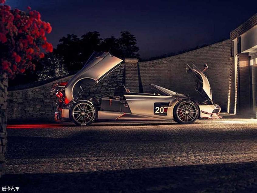 帕加尼发布Huayra Roadster BC车型官图