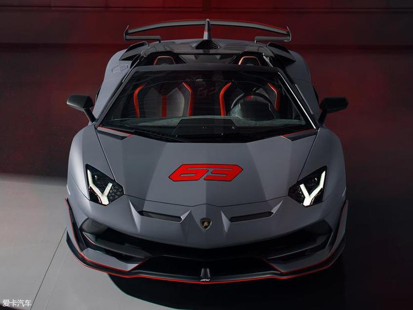 Aventador SVJ特别版发布