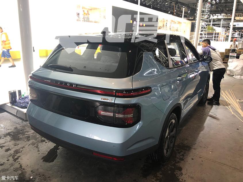 成都车展探馆:新款宝骏RS-5实车曝光
