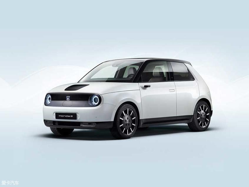 本田e量产版官图 将法兰克福车展发布