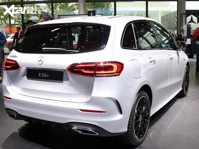 2019法兰克福车展 奔驰B 250 e发布亮相