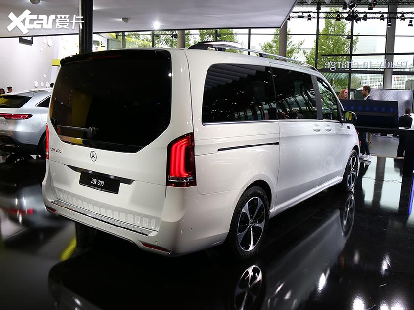 2019法兰克福车展 奔驰EQV量产版首发