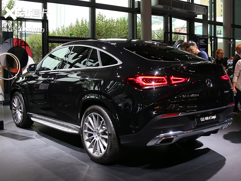 法兰克福车展 全新一代GLE Coupe发布