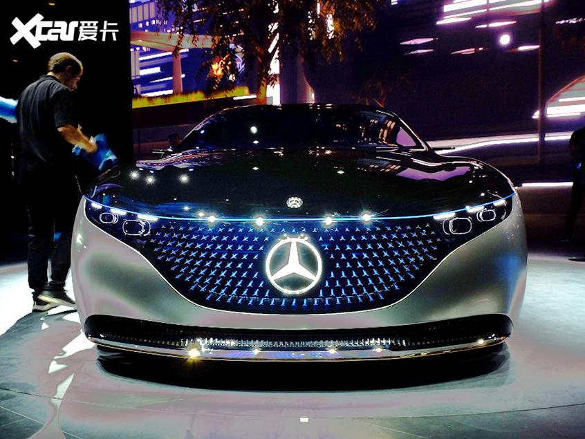 法兰克福车展:奔驰VISION EQS概念车