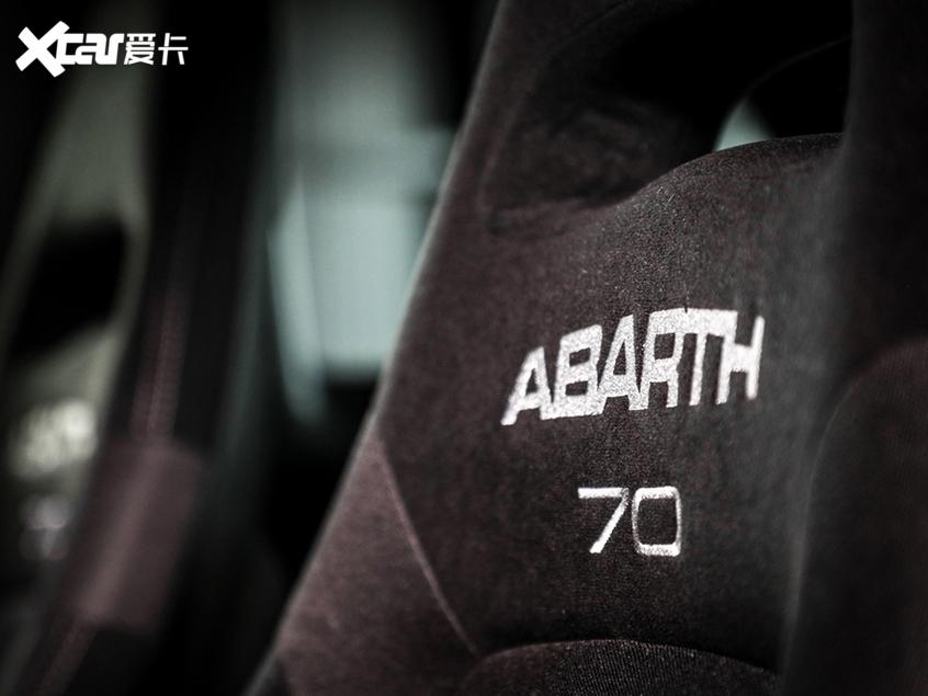 新款Abarth 595 Pista官图