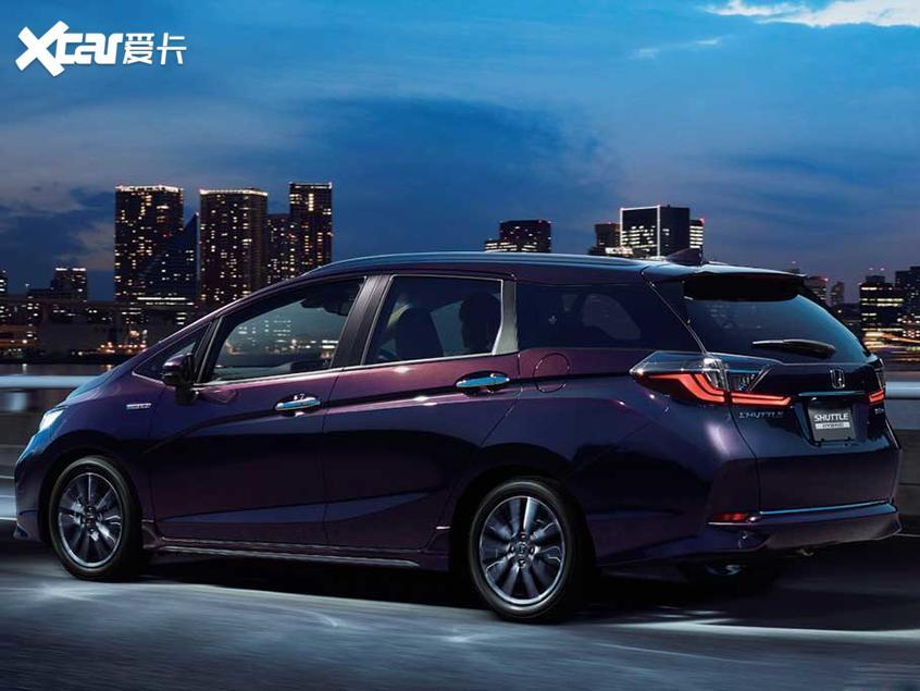 本田新款Shuttle官图 将东京车展亮相