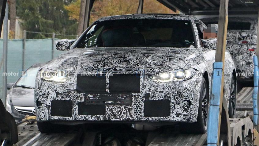 新一代宝马M4轿跑谍照 采用家族式设计