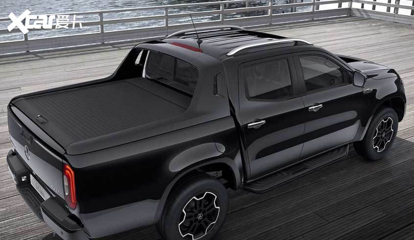 奔驰X级黑色特别版官图 将明年3月投产