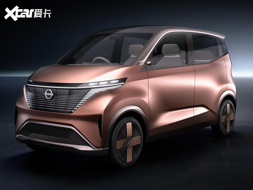 日产IMk概念车更多配置 智能科技是亮点