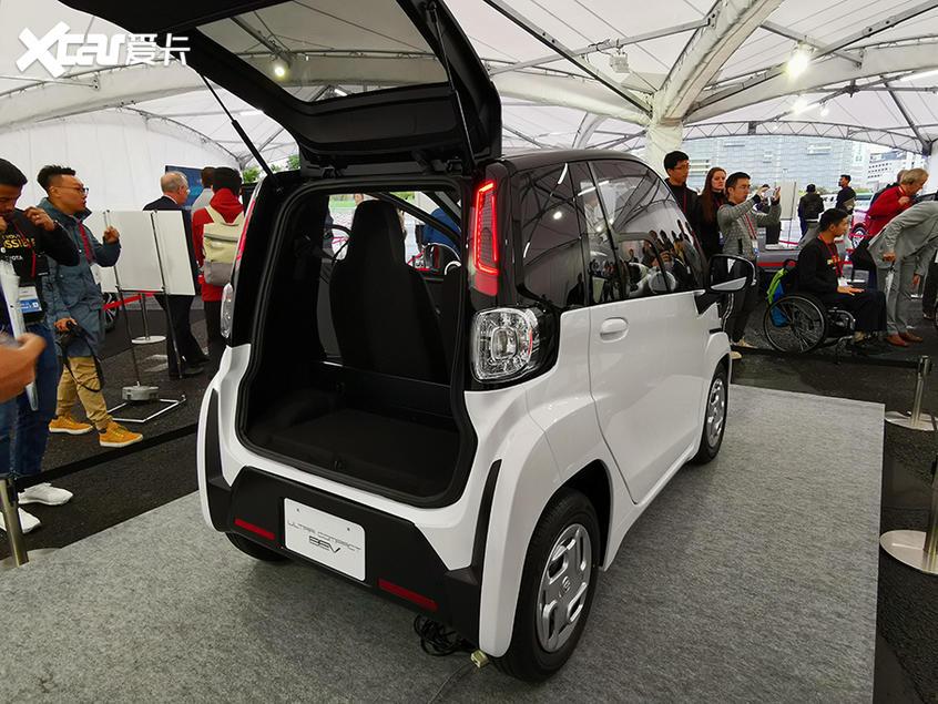 东京车展:丰田Ultra-compact BEV发布