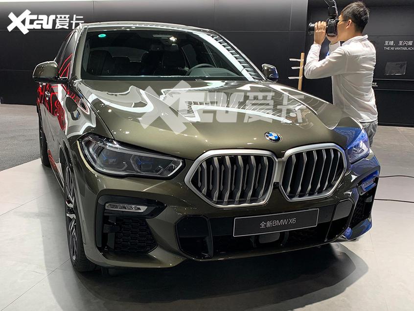 广州车展探馆:即将上市的新一代宝马X6