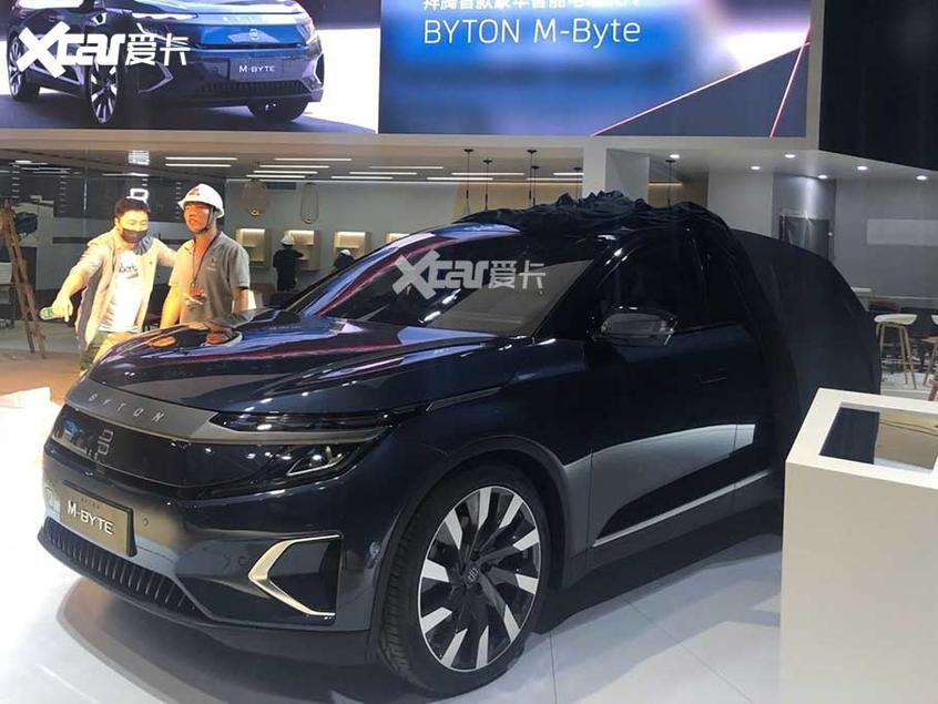2019广州车展探馆:拜腾M-Byte量产车