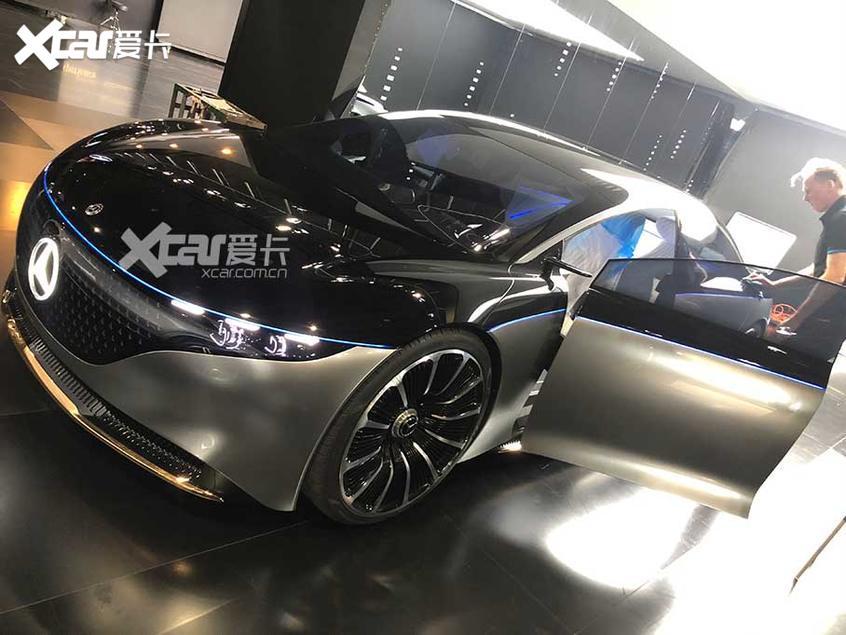 广州车展探馆:奔驰VISION EQS概念车