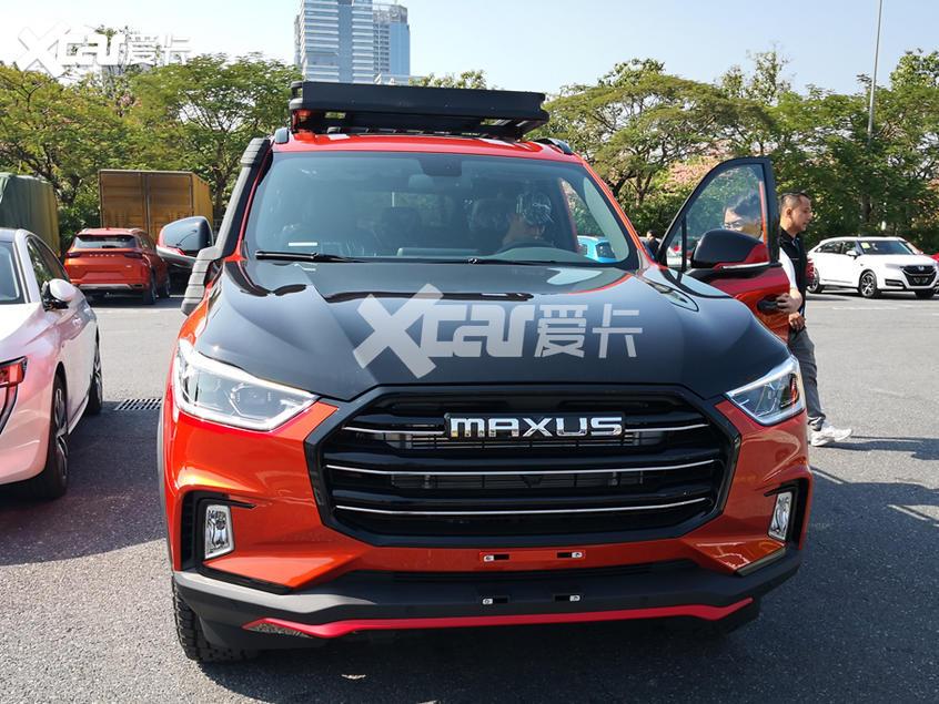 广州车展探馆 上汽MAXUS D90柴油版曝光