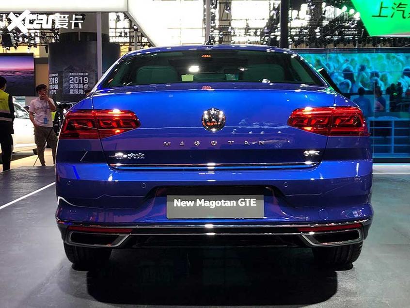 广州车展:一汽-大众新款迈腾GTE首发