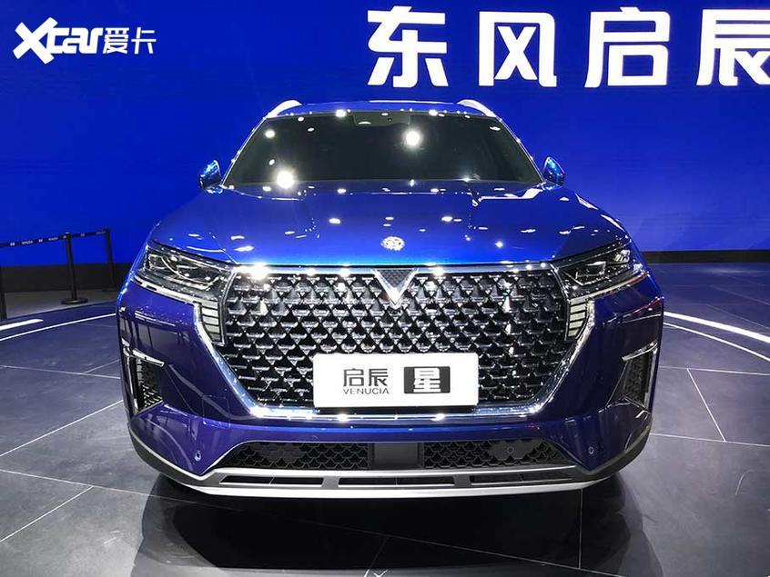 2019广州车展:东风启辰全新SUV首发亮相