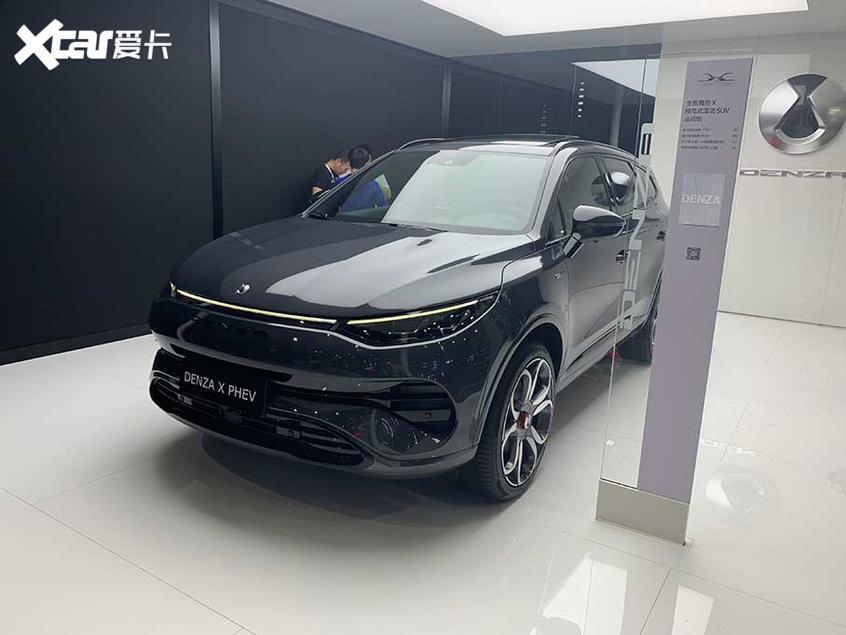 腾势X广州车展上市 纯电版/PHEV供选择
