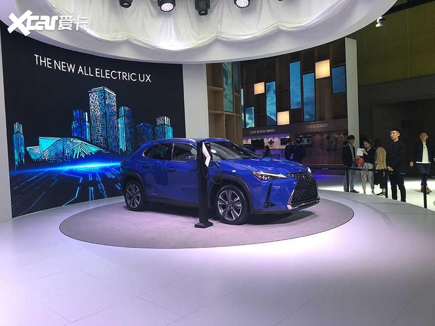 2019广州车展 雷克萨斯UX300e全球首发